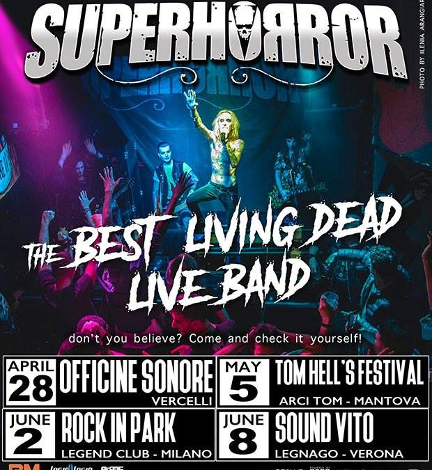 "Superhorror brings ""Hit mania death"" album on tour"